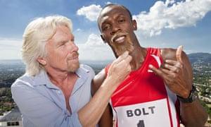Virgin Media advertising campaign featuring Usain Bolt