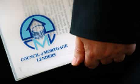 Folder bearing logo of Council of Mortgage Lenders