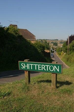 silly names: Shitterton near Bere Regis in Dorset