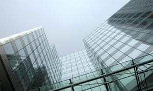 FSA headquarters in Canary Wharf, London