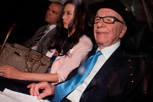 Picture Desk Live: Murdoch leaving his house for Leveson Inquiry