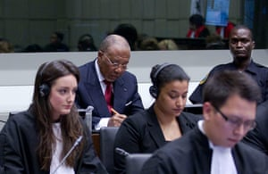 Picture Desk Live: Charles Taylor at the Hague