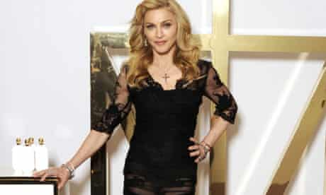Madonna launches her first fragrance Truth Or Dare at Macy's