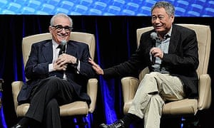 Martin Scorsese and Ang Lee at CinemaCon 2012