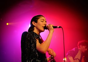 Week in music: Caroline Polachek of Chairlift performs on stage at Scala in London