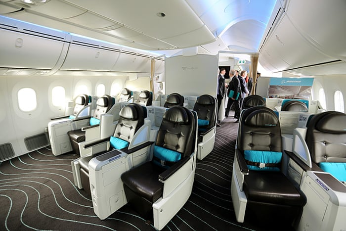 Boeing 787 Dreamliner tour - in pictures | Business | The Guardian