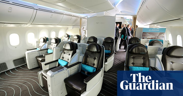 Boeing 787 Dreamliner tour - in pictures   Business   The