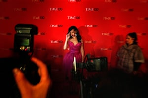 The week in music: Rihanna arrives to be honored at a the Time 100 Gala in New York