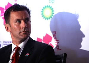 Picture Desk Live: Jeremy Hunt Launches The Programme for The London 2012 Festival