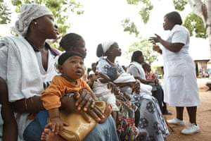 Picture Desk Live: To match Feature GHANA-VACCINES/