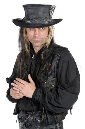 Goths: Carl McCoy of Fields of the Nephilim