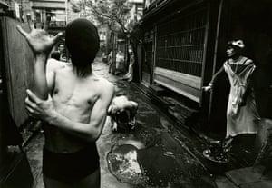 William Klein: Dancers interpret Genet's 'Notre dame des fleurs', Tokyo, 1961