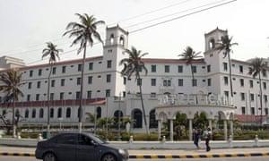 The Hotel Caribe in Cartagena