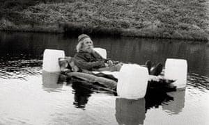 Jake Williams goes rafting.