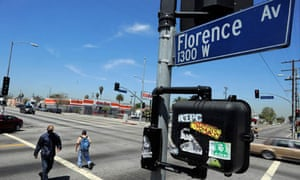 Florence and Normandie Avenues in South Central LA