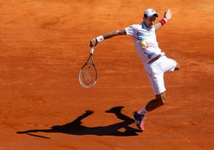 best of the week: Djokovic returns the ball to Nadal in the Monte Carlo Tennis Masters final