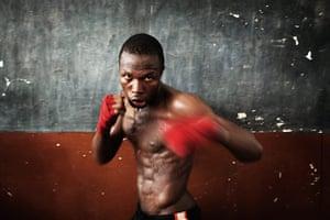 best of the week: Olympic boxing hopeful Abdul Rashid Bangura training