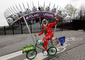best of the week: Didi Senft, a cycling enthusiast better known as 'El Diablo'