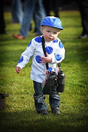 best of the week: One year old racing fan Kieran John Kelly from Wicklow