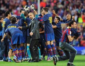 Guardiola resigns: Barcelona v Real Valladolid - La Liga