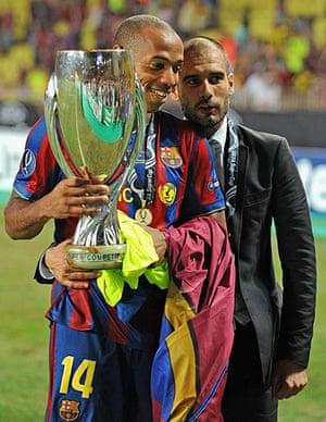 Guardiola resigns: Barcelona v Shakhtar Donetsk - UEFA Super Cup