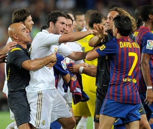 Guardiola resigns: Real Madrid's Argentinian forward Gonzal