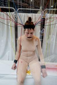 Jacqueline Traide's performance art for Lush