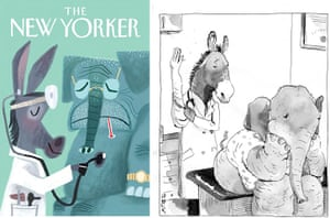 New Yorker: Democratic Donkey - New Yorker