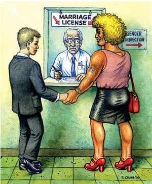 New Yorker: R.Crumb - New Yorker
