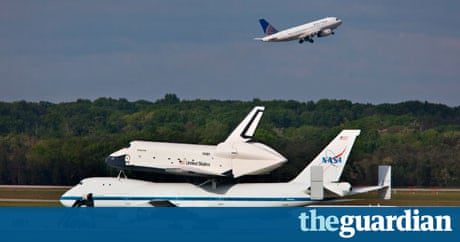 Space shuttle Enterprise hitches a ride to New York | US ...