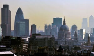 London skyline view