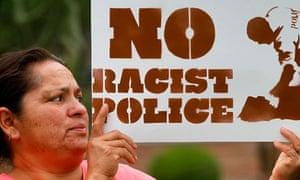 Maria Leyba protest SB1070 Arizona immigration law
