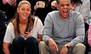 Beyonce and Jay-Z, New York Knicks