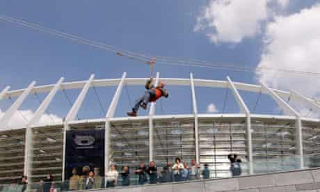 Anti terror exercise in preparation of UEFA Euro 2012