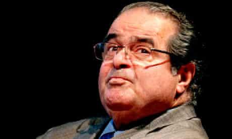 US supreme court Justice Antonin Scalia, 2011