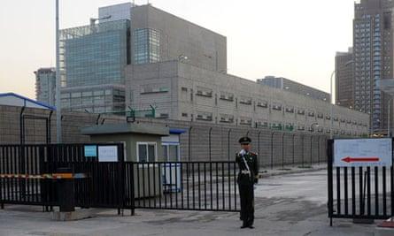 US embassy compound, Beijing 27/4/12