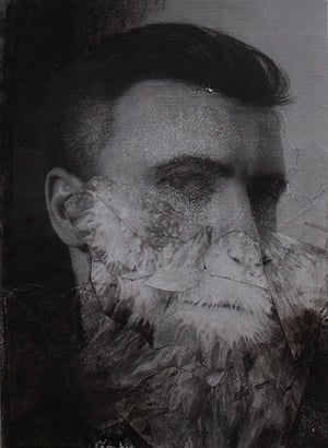 Frieze New York: Study for Self Portrait by Adrian Ghenie