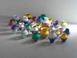 Frieze New York: Coloured Vases, 2010 by Ai Weiwei