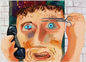 Frieze New York: Talk Talk, 2010 by Dana Schutz