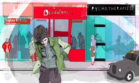 Illustration for Alain de Botton
