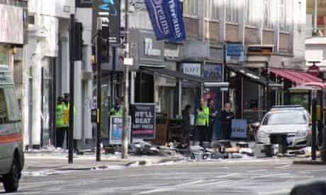 Tottenham Court Road siege