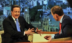 David Cameron with Andrew Marr