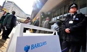 Barclays shareholders