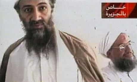 Osama bin Laden and current al-Qaida leader Ayman al-Zawahiri