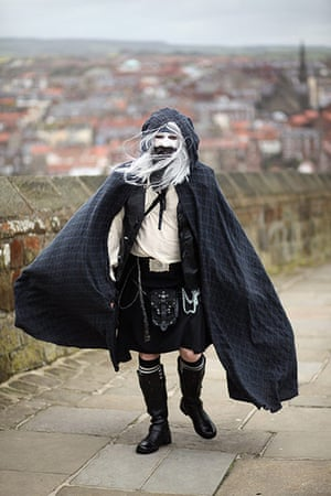 Gothic weekend in Whitby : Enthusiasts Participate In The Annual Whitby Goth Weekend