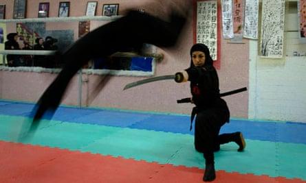 Iran female ninjas