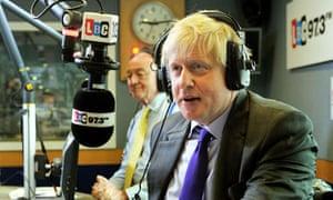 London mayoral radio debate