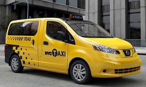 Nissan NV200 Taxi of Tomorrow