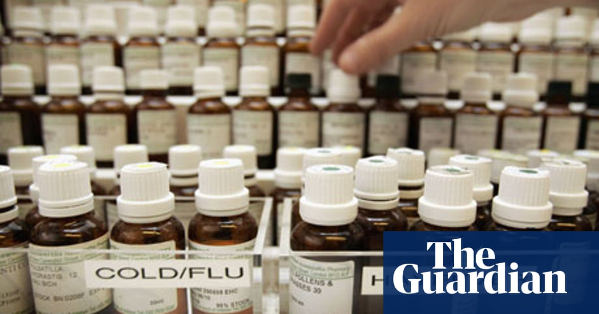 Why I Changed My Mind About Homeopathy Placebo Effect The Guardian