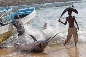 Somalia: Fishermen in Somalia